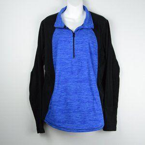 St. John's Bay Zip-Up Activewear Sweatshirt sz XL